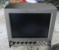 Sony lmd-9020 9inch lcd monitor, composite, rgb, component, yc, 12v and mains