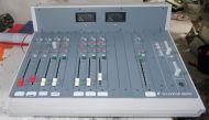 Soundcraft rm105 sound radio mixer with PSU
