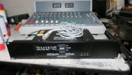 Soundcraft rm105 sound radio mixer with PSU and cable (ref 2)