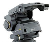 Vinten Vector 750 heavy duty tripod head with pan bar and wedge plate (legs available)