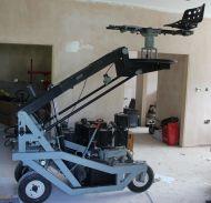 VInten kestrel jib crane with seat position and hydraulics
