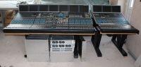 Calrec alpha 100 72  channel sound mixer with DSP, digital, audio frames