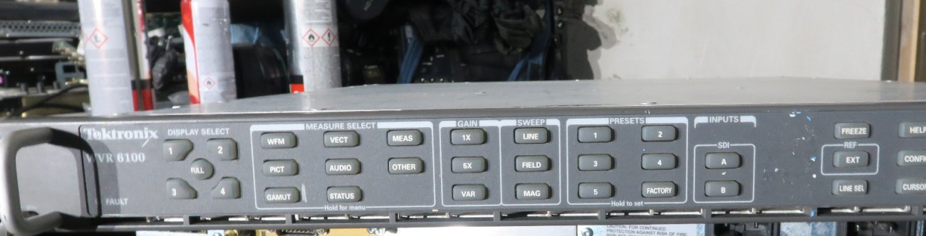 Hdsdi And sdi And Analog Audio Ppm And Speaker Monitoring Unit Video Production & Editing faulty