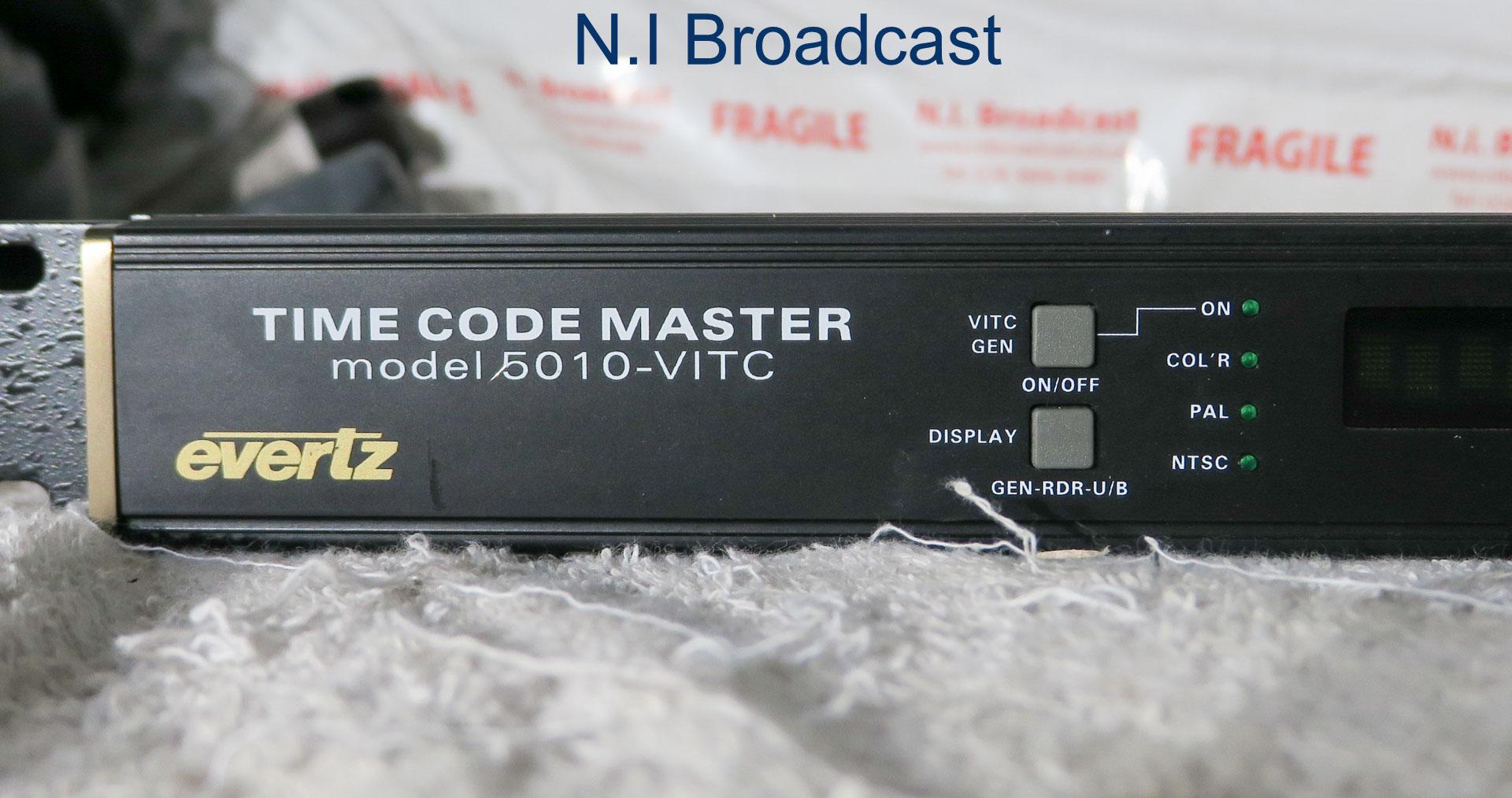 Evertz master timecode 5010-vitc generator unit