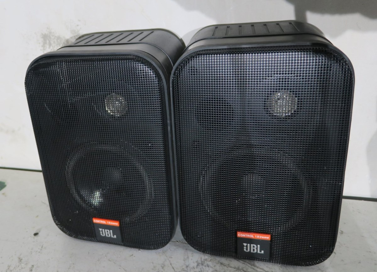 Cameras & Photo Audio For Video Pair Of Jbl Speakers Control 1x