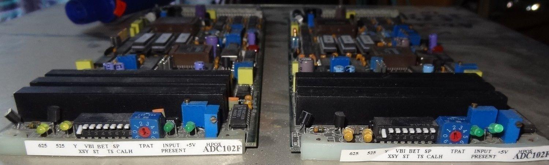 Crystal vision adc102F yuv/rgb to SDI converter card+ frame sync