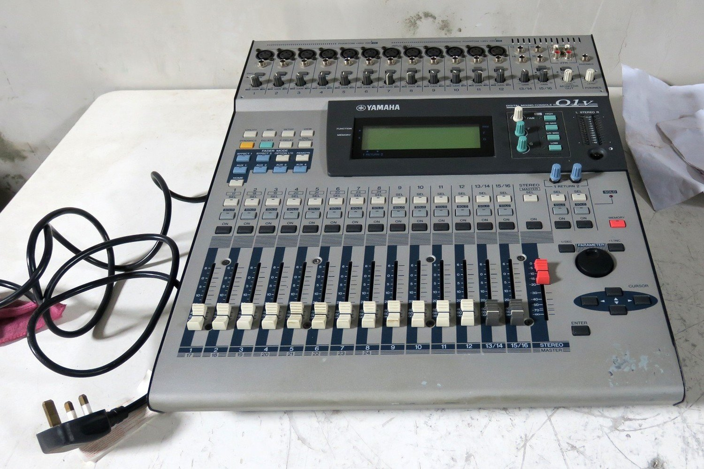 yamaha 01v digital sound mixer 24 stereo channel n i broadcast ltd. Black Bedroom Furniture Sets. Home Design Ideas
