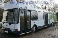 11metre long Dennis Bus with conversion in mobile office / training bus Specs