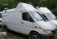 Mercedes HD 3-4 camera camera truck with equipment, 12kva generator panda and more OB64