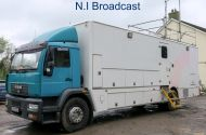 ob65 11metre 10 camera SDI camera truck with 3 rooms