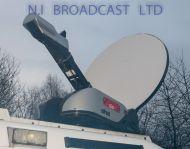 Upod / Sislive UPOD 1.2m ku band motorised satellite dish