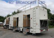 OB73 13.6m ASGB Smiths Bentley 4x room trailer, 4x air con, ( excellent condition)