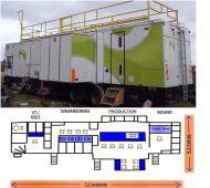 (OB20 )16 camera HDSDI high defintiion 12metre expanding truck. (Smiths coachbuilt)