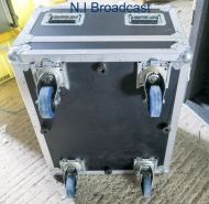 Heavy duty flightcase on wheels for VTRs and more