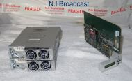 Miranda Densite 3 ethernet / frame controller card and 2x PSU (new version)