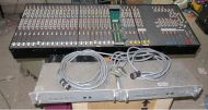 Calrec M3 30channel sound mixer  with 2x PSU and PSU cables