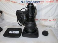 Canon high definition hj22e x 7.6 iase A broadcast lens, with extender (22x zoom)  (ref 6)