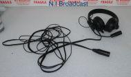 Sennheiser hmd25-1 600ohm headset with microphone