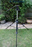 Sachtler DV12TB  ( dv12tb )  tripod head with C1 small pedestal legs