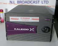 Miranda Kaleido X 48x input channel HDSD / SDI I high defintion multiviewer with  2x DVI outputs , (48x in,   2x out)