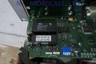 Evertz 2U frame with DATA router installed  Model Q32-32PR+2PS