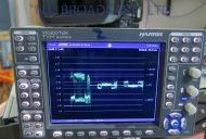 Harris TVM900 HDSDI / SDI waveform vector scope with 16channel Audio option al