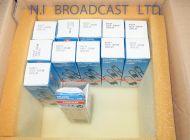 12x Osram 120v 300w GX6.35 bulbs for sachtler lights