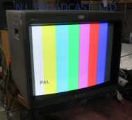 Sony pvm-20m4e 4:3 / 16:9 high resolution triniton monitor with composite, RGB, component, SDI, audio and s-video