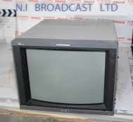 Sony 14inch pvm14L4 retro gaming / editing monitor, RGB, SDI, composite