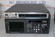 Sony SRW5800 recorder with 3116 drum hours. Records with SR format and Playback HDCAM, HDCAM SR, Digital betacam