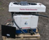 Fischer Panda 12 12kva 1phase  generator with fan cooled radiator and remote panel