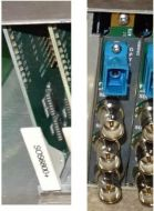 Leitch harris SOS6800+ SDI video (upto 540mb/s) or ASIto fibre optic converter with back connector